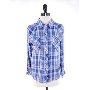 Rails Plaid Gauze Shirt